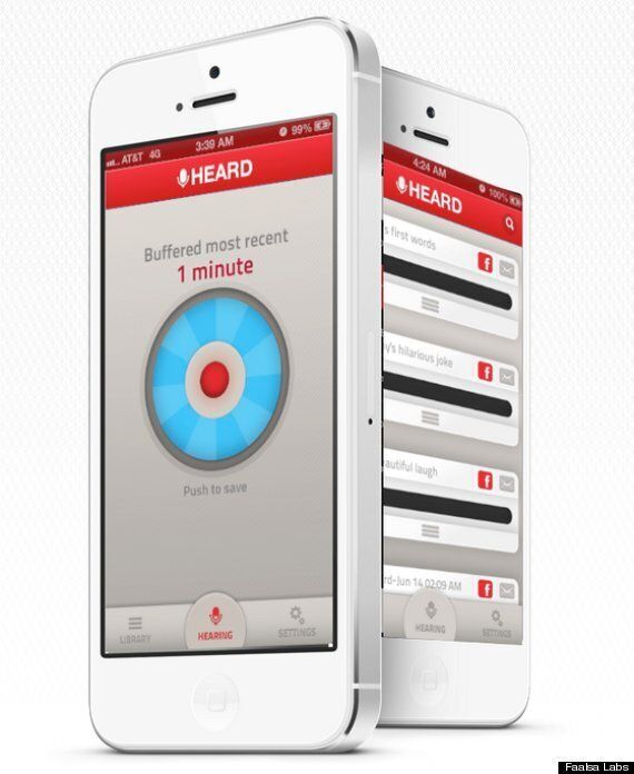 'Heard' iPhone iOS App Lets You Record Sound - From The