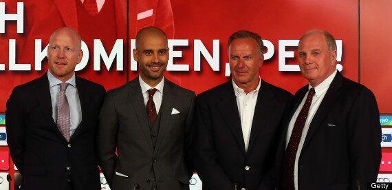 Pep Guardiola Unveiled As New Bayern Munich Coach