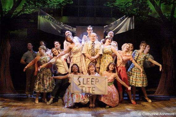 The Pajama Game Steams Up The West