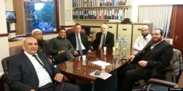 Jewish and Muslim leaders discuss security in the wake of a spate of mosque