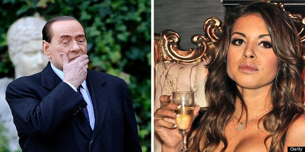 (FILES) This combo image made of two file pictures shows Italian Prime Minister Silvio Berlusconi (L)...