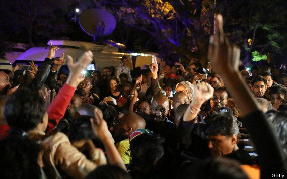 Nelson Mandela's Death Mourned With Tears, Life Celebrated With Song In South