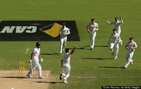 Australia Dominate England In Adelaide Ashes Test