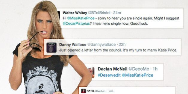 Katie Price Announced Her Divorce on Twitter - And Didn't Deserve the Abusive