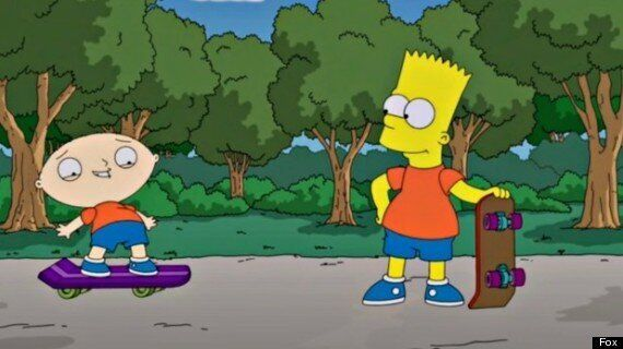 'Family Guy' Meets 'The Simpsons' In Crossover Episode: First Look Pictures