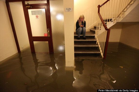 Floods Sweep Britain, With Transport Disrupted And Homes Destroyed (PICTURES)