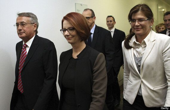 Australia's Prime Minister Julia Gillard Defeated In Shock Leadership Challenge By Kevin