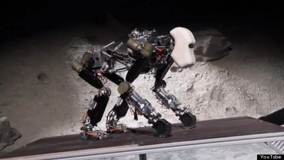 Robotic Walking Ape Could Explore Space For (Terrified) Humans