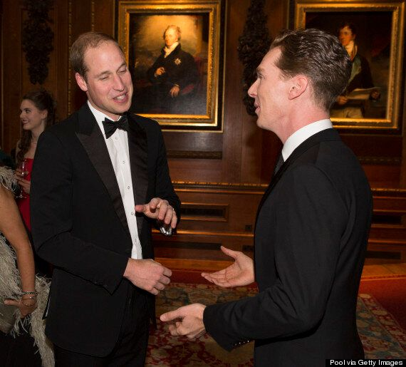 Benedict Cumberbatch, Cara Delevingne And Kate Moss Attend Prince William's Charity Fundraiser