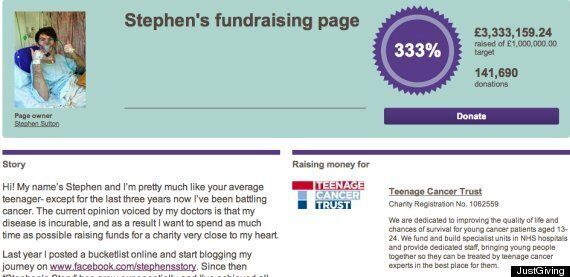 Stephen Sutton Dead At 19: Donations Pour In To Boost Cancer Teen's Huge Charity