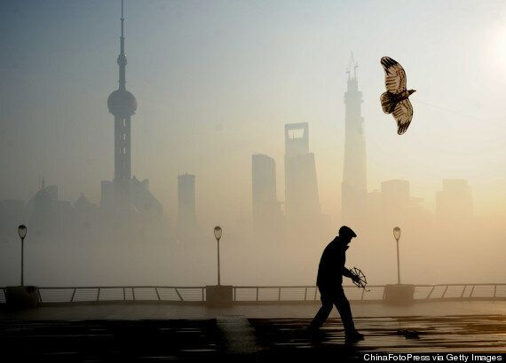 The Toxic Smog Cloud Hanging Over Shanghai Looks Just As Bad As It