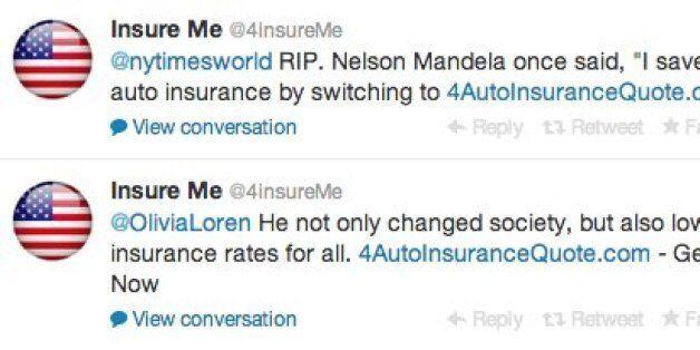 Nelson Mandela: Insurance Company Sparks Fury Using Death For
