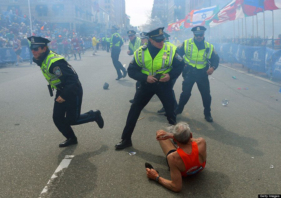 Boston Marathon Bombing, Prince George And Obama's Selfie, 12 Incredible Pictures Of The Year From
