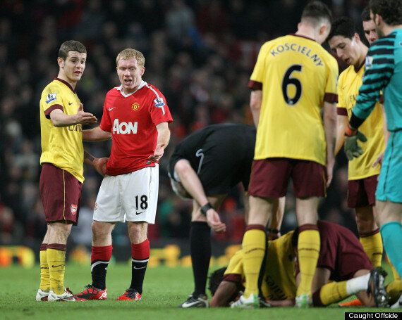Jack Wilshere Called Paul Scholes Over Arsenal