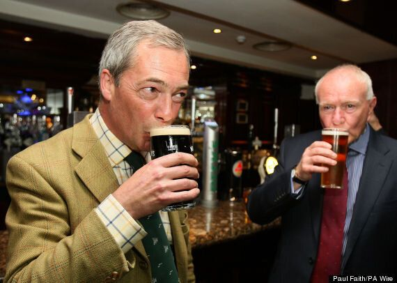 Belfast Pub Crown Bar Refuses Ukip Publicity Pint For Farage After Day Of