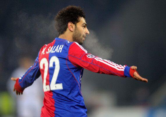 Mohamed Salah, Basel Forward, Criticised In Egypt For Kissing Awards Host