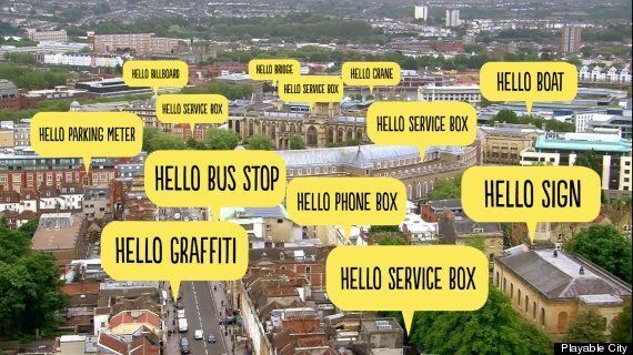 Bristol's 'Hello, Lamp Post!' Digital Makeover Invites Public To Chat To Street