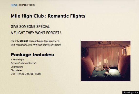 Airline Offers Couples Mile-High Club Flights With 'Discreet'