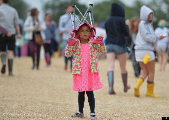 Glastonbury Weather: Rain Hits Worthy Farm Ahead Of First Day Of 2013 Festival
