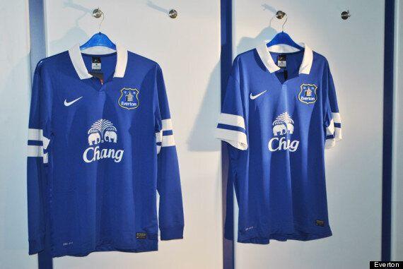 Everton Reveal New Nike Home Kit