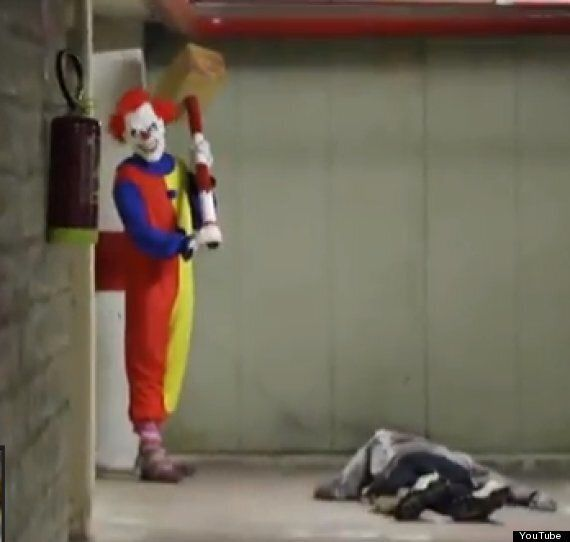 Killer Clown Wielding A Hammer: DM Pranks Scares The Crap Out Of Everyone