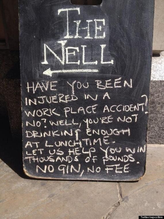Spotted In London: The Pub Sign Of The Day