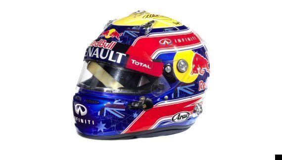 Sebastian Vettel Helmet Raises World Record £72k At
