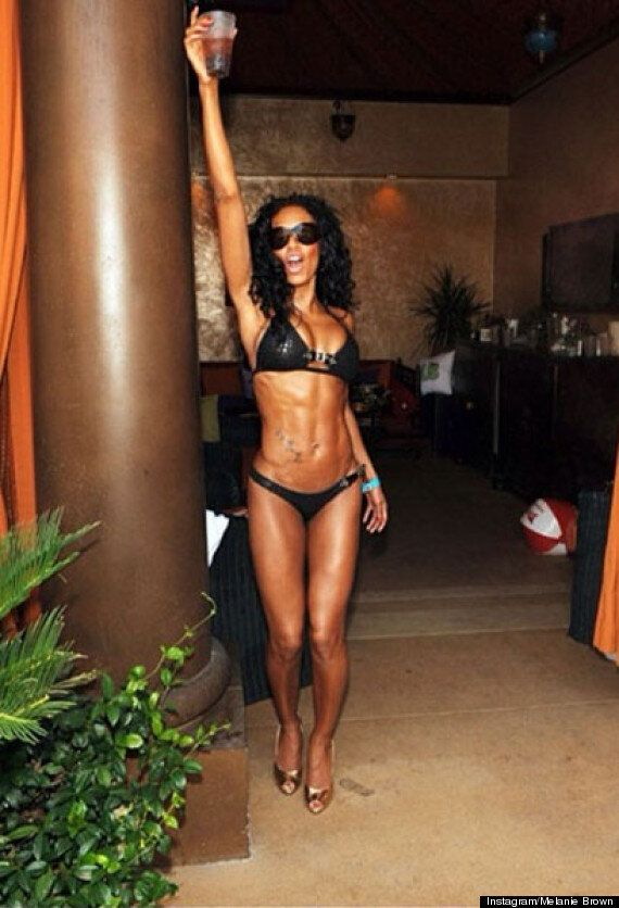 Mel B Shows Off Rock Hard Abs In New Instagram Photos Amid 'X Factor' Judge Rumours