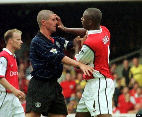 Roy Keane And Patrick Vieira's Manchester United & Arsenal Combined