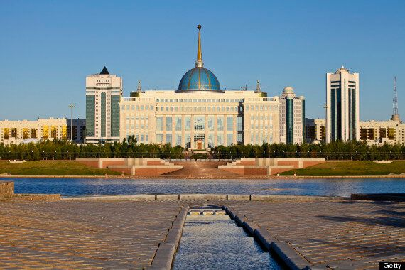 David Cameron In Kazakhstan For Trade And Human Rights