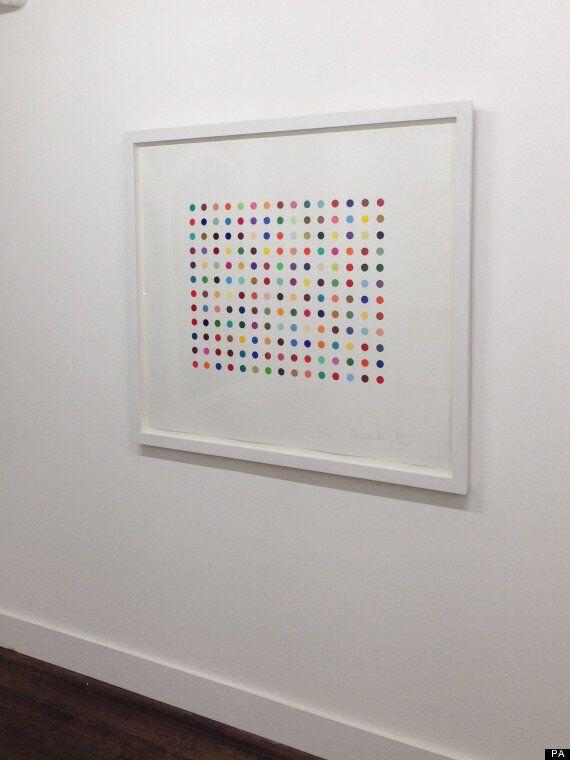 Damien Hirst Artworks Stolen From Notting Hill