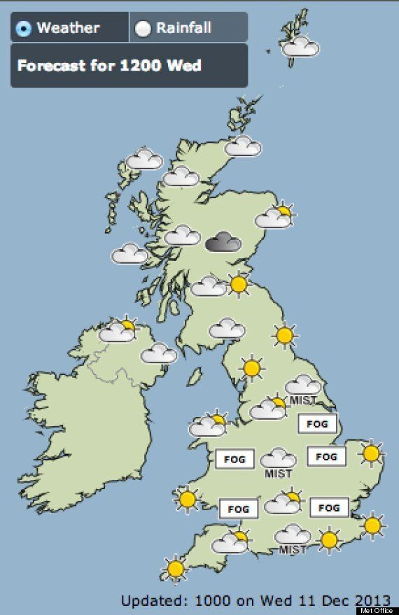 UK Weather: Thick Fog Grounds Planes, Delays Ferries