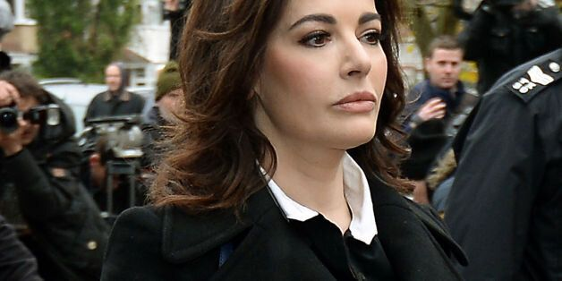 ALTERNATE CROPTV cook Nigella Lawson arriving at Isleworth Crown Court in west London to give evidence...