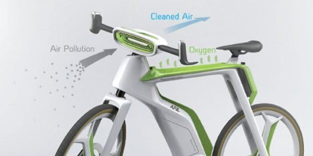 Lightfog Pollution Eating Bicycle Could Make Your Green Commute Even