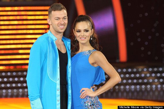 'Strictly Come Dancing' Couple Kara Tointon And Artem Chigvintsev