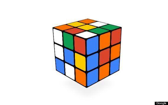 Rubik's Cube Google Doodle Celebrates Iconic