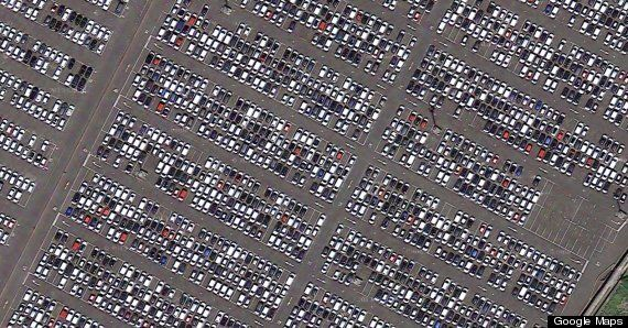 Google Maps Cars Conspiracy: Pictures Lead To (False) Rumours Of Economic