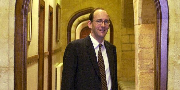 Conservative MP for Chichester, Andrew Tyrie at the Houses of Parliament where he gave a press conference...
