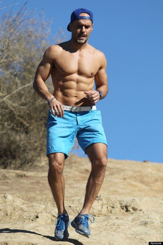Former 'EastEnders' Star Michael Greco Shows Off His Ripped Muscles And Six-Pack During A Hike In LA