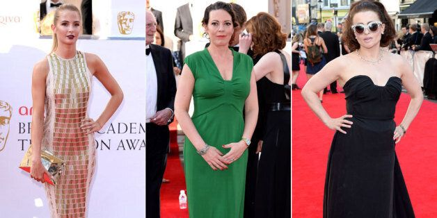Mille Mackintosh, Olivia Colman and Helena Bonham