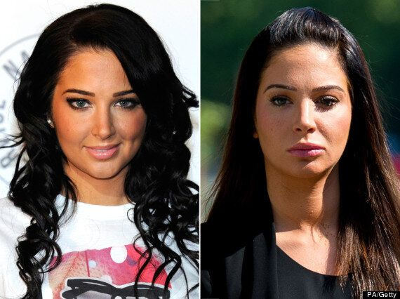 Tulisa And Her New Face Arrive At Court To Face Assault Charges
