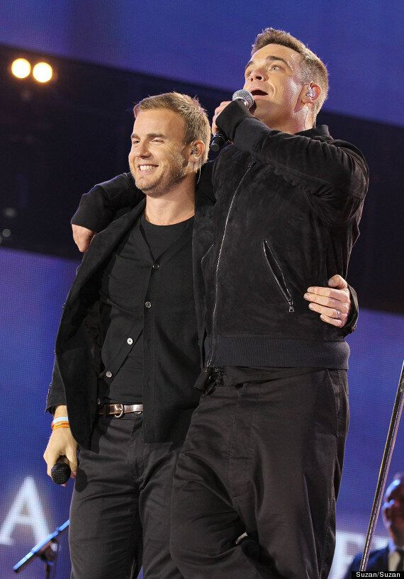 Gary Barlow: 'Robbie Williams Is Too Busy To Replace Me On The X