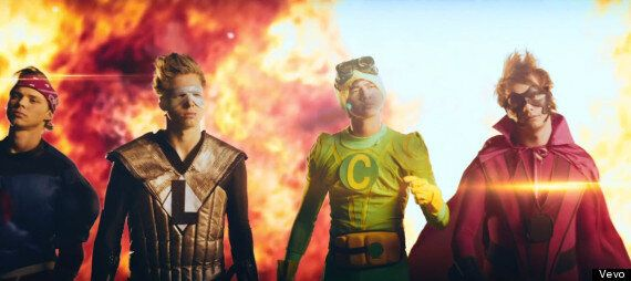 5 Seconds Of Summer 'Don't Stop' Video: Boyband Unveil New Superhero-Themed Music Video For Second