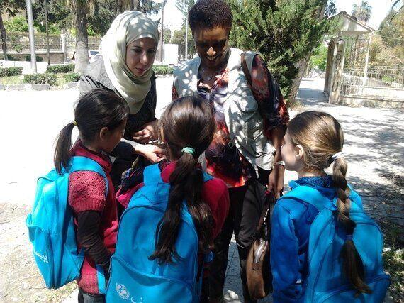Field Diary: Unicef School Bags, a Symbol of Hope in War-Torn