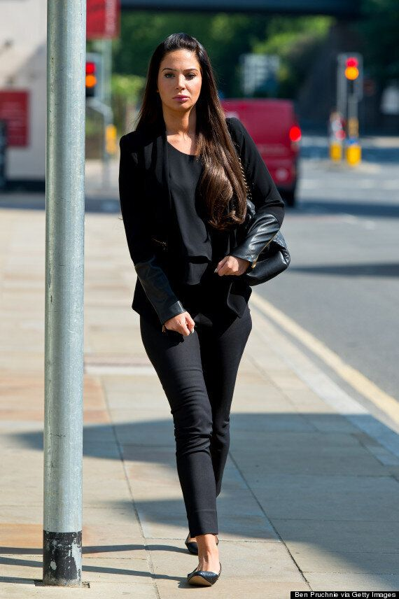 Tulisa Contostavlos Appears In Court To Face Assault