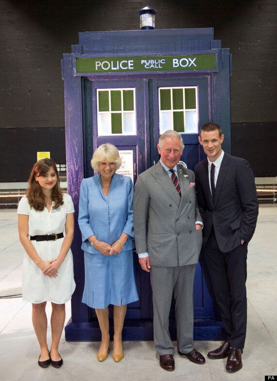 Prince Charles Attempts Dalek Impression At 'Doctor Who' Studios In Cardiff