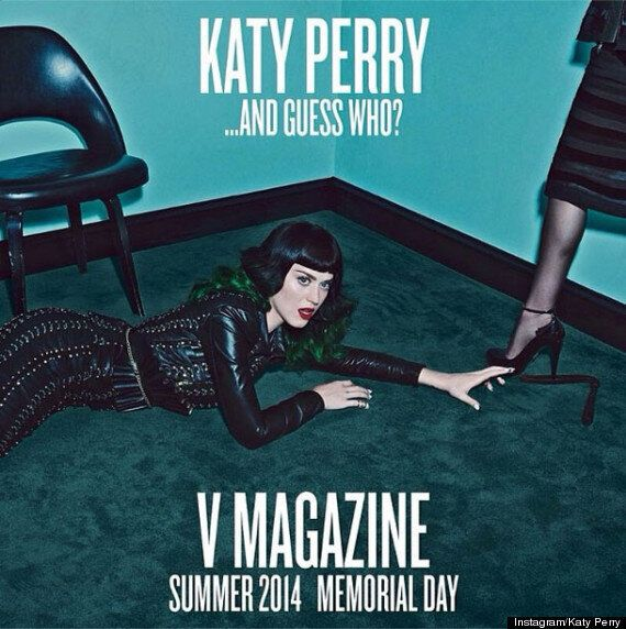 Katy Perry And Madonna Tease Joint Photo Shoot For V Magazine With Bondage Theme On Instagram (VIDEO,