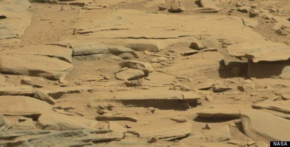 Mars Skull Of Alien T-Rex 'Found' In Photo Of Martian Surface, Except Obviously