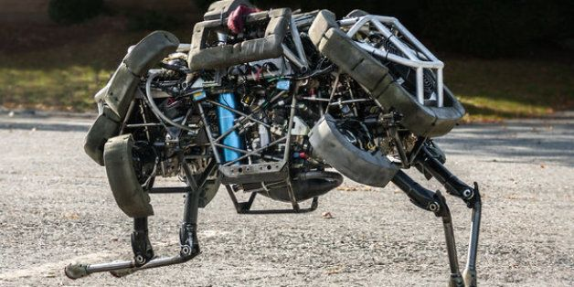 Boston Dynamics' four-legged robot named