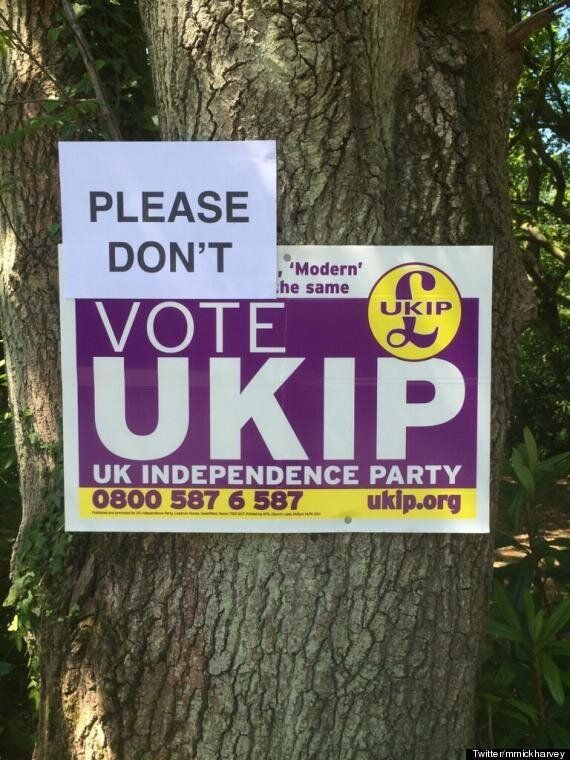 PICTURE: What To Do If You See A Ukip